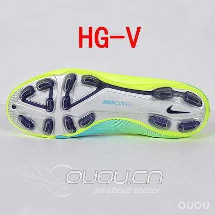 Nike的三种HG大底:HG-V,HG-E,HG-B